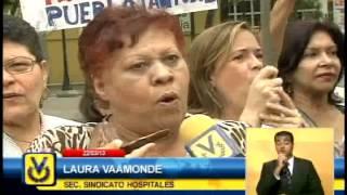 Mujeres protestan en Caracas contra el alto costo de la vida y el desabastecimiento