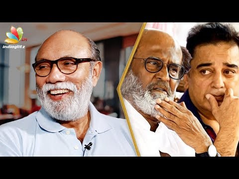 Why I'm not entering politics : Sathyaraj Interview | Rajini, Kamal | Echarikkai Movie