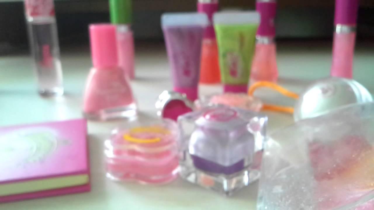Видео моя косметика для детей