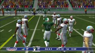 XBox One Canadian Football 2017 Gameplay