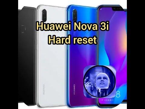 Huawei nova3i hard reset