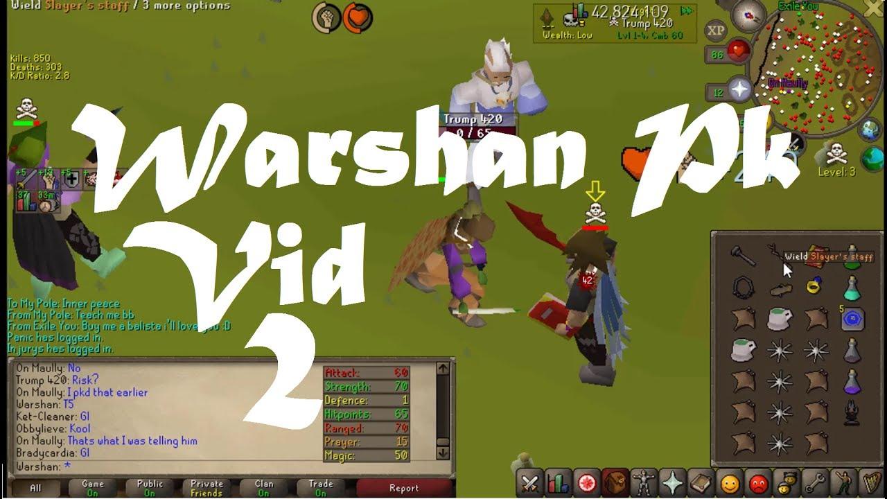 [OSRS] Warshan | Obby Mauler Pk Vid 2 | 13Pray Firecape 57 cmb