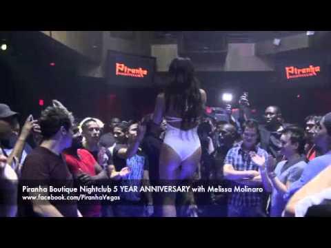 Piranha Boutique Nightclub 5 YEAR ANNIVERSARY with Melissa Molinaro