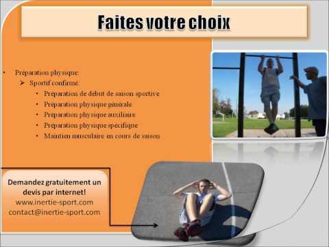 Nos prestations - coaching sportif et chorégraphique - Inertie TV
