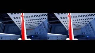 Mirror's Edge в 3D без очков (Стереопара / side by side) [HD 720p](Чтобы был эффект 3D изображения, нужно смотреть правым глазом на левую картинку и левым глазом на правую..., 2010-11-28T15:07:35.000Z)
