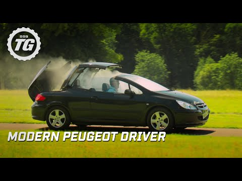 """Modern Peugeot Driver"" Adventures - Top Gear - Series 22 - BBC"