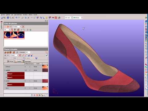 Shoe Design software lady