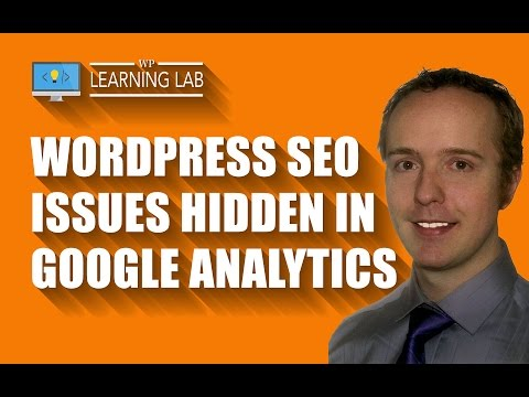 How To Check Google Analytics For Potential WordPress SEO Issues - WP Learning Lab - 동영상