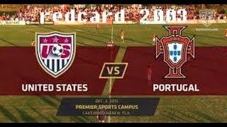 Redcard 2003 - US v. Portugal