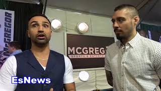 ((MUST SEE)) Paulie Malignaggi How Does Conor McGregor Box!!! - esnews boxing