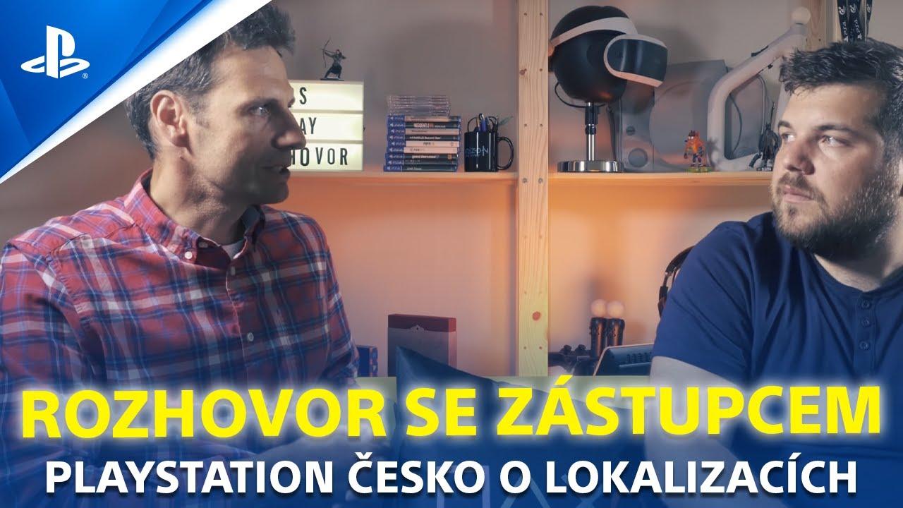 Rozhovor: Petr Škaloud z PlayStation CZ o českých lokalizacích