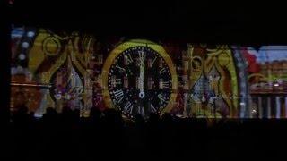 Световое шоу на Дворцовой площади. Декабрь 2015.