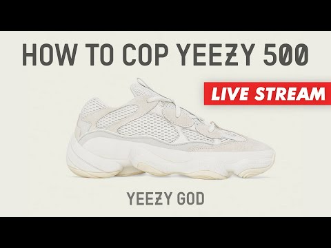 the latest bedb0 681ae Yeezy 500 Bone White Live Cop w/ YEEZY GOD / Yeezy Supply ...
