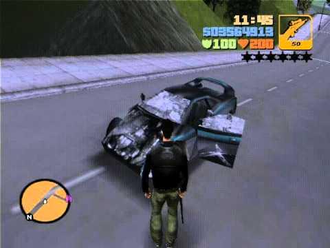 GTA 3 город призрак