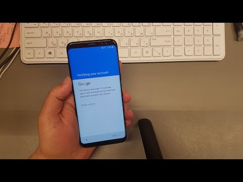 How to remove google account from samsung s8 after factory reset
