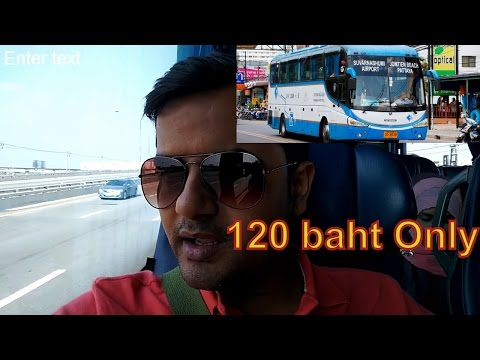 Thailand Guide : Bangkok To Pattaya by bus 120 baht only