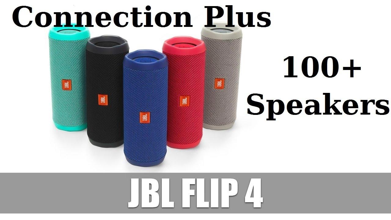 SI POSSONO COLLEGARE 100 JBL ASSIEME!!! NEW JBL CONNECT PLUS (JBL FLIP 4)