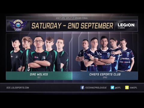 Thumbnail: OPL Split 2 2017 - GAUNTLET Day 3: LGC vs. CHF