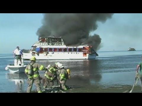 Casino boat fire in Port Richey still a mystery, but 2004 boat fire blamed on faulty maintenance