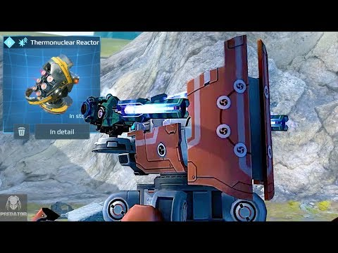 Buffed Raijin Smashing Robots Up Close | 2 Million -  Armoured Fortress | War Robots