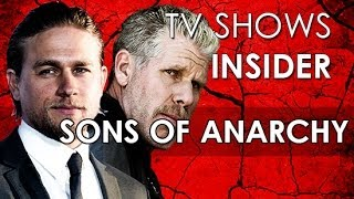 Son of Anarchy - Charlie Hunnam (Jax) & Ron Pearlman (Clay) about Kurt Sutter tweets