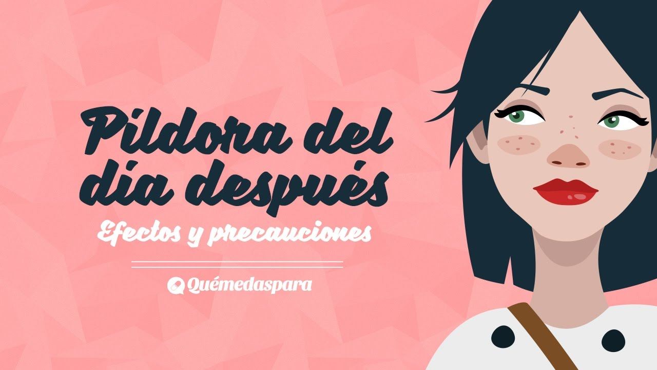 pildora dia despues y menstruacion