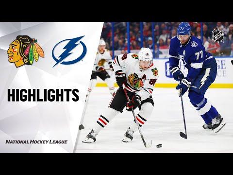 NHL Highlights | Blackhawks @ Lightning 2/27/20