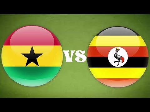 Ghana Vs Ouganda  LIVE
