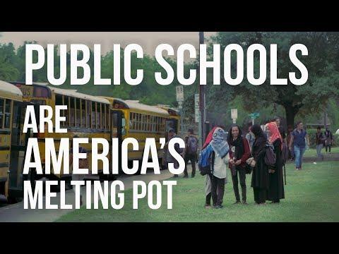 Public Schools Are America's Melting Pot