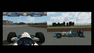[F1C] Benetton-Renault B196 @Oscar Galvez (Gerhard Berger - Test Day) [HD]