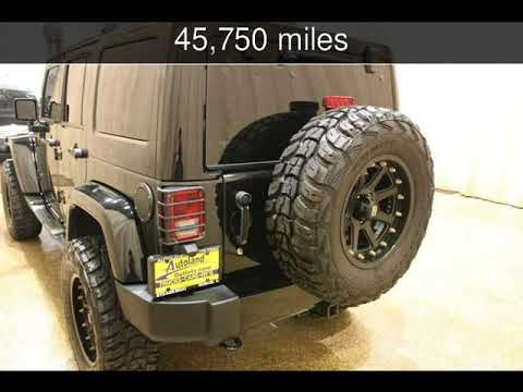 2014 Jeep Wrangler Unlimited Altitude Used Cars Roscoe Illinois