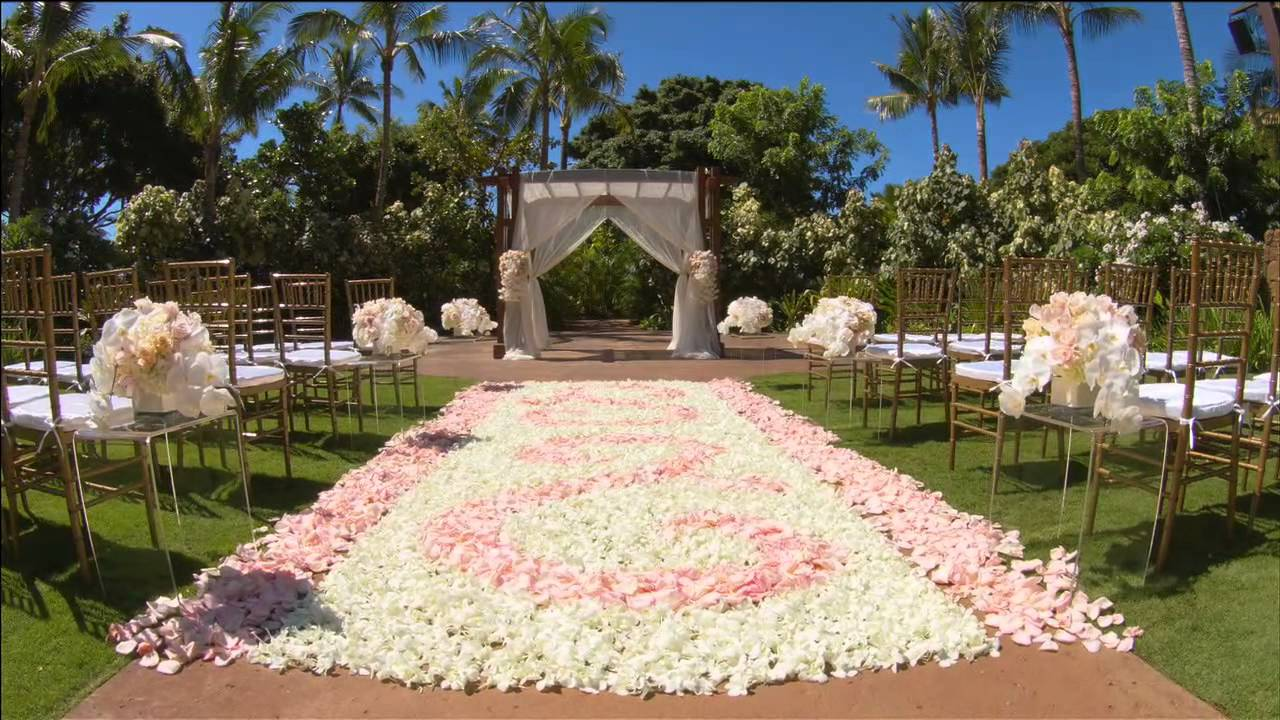 Weddings at disney parks and resorts - Disney S Fairy Tale Weddings Aulani Resort Spa