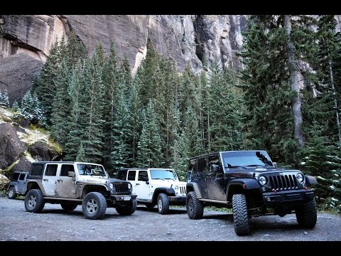 Colorado Utah Trip - Jeep Adventure - IX 2016
