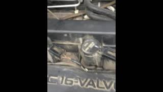 Звук мотора после установки пружинки в клапан заслонок