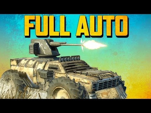 Crossout AUTO CANNONS (Crossout Gameplay)