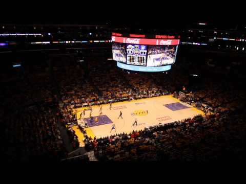 Staples Center | atmosphere during playoff game between Los Angeles Lakers and Oklahoma City Thunder