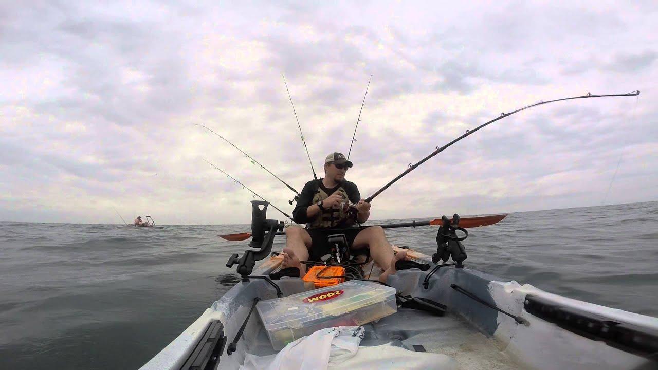 Cape san blas offshore kayak fishing youtube for Cape san blas fishing