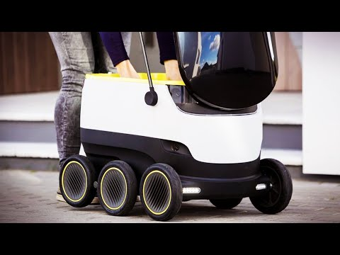 Self-Driving Delivery Robots May (VERY) Soon Become A Real Thing