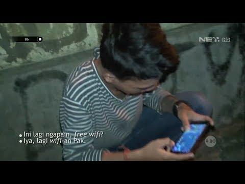 Dikira Mabuk Rupanya Sekelompok Remaja Nebeng Wifi Gratis