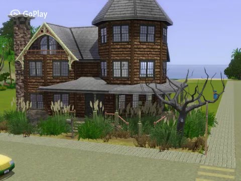 sims 3: abandoned victorian classic speed build - youtube