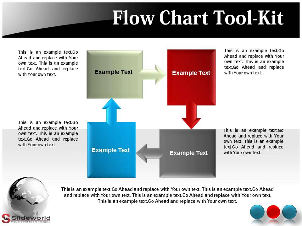 flow chart powerpoint presentation templates youtube. Black Bedroom Furniture Sets. Home Design Ideas