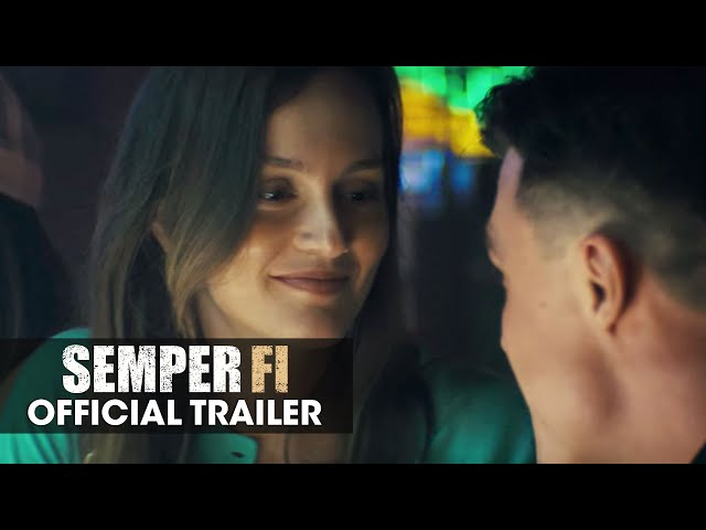 Semper Fi (2019) Official Trailer - Jai Courtney, Nat Wolff, Leighton Meester
