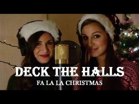 LoveCollide - Deck The Halls (Lyrics) - YouTube