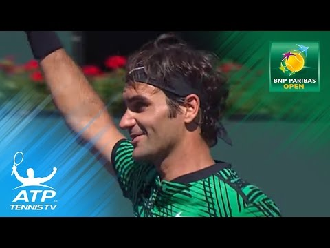Federer, Wawrinka into final | Indian Wells 2017 Highlights Day 10