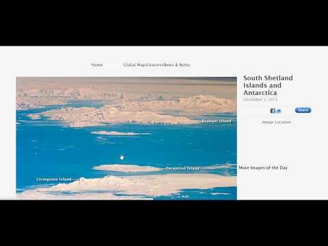 ROBERT BASSANO  Antarctic Coastline @ 1,100 Miles Nadir! WTF!!  FLAT EARTH