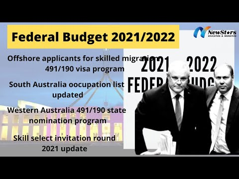Federal budget 2021-2022 | Good News for Offshore applicants for Skilled Migration 491/190 visa.