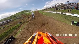 EMX125 Race GoPro at Bulgaria MXGP - vurbmoto