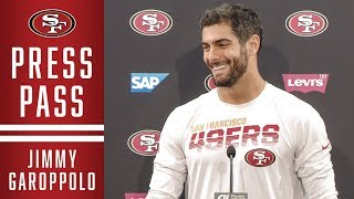 Jimmy Garoppolo Excited for MNF Debut | 49ers