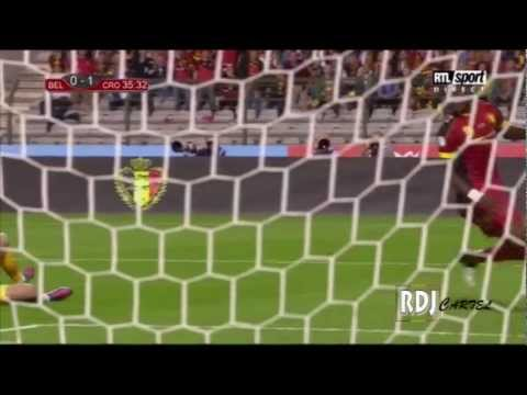 BELGIUM's highlights 1-1 Croatia's goal | World Cup 2014 qualifying Group A | 2012/09/11