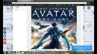 como descargar el juego de Avatar James cameron´s en español por mega
